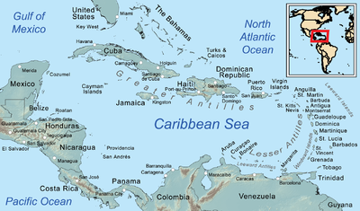 Caribbean Image Map